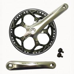 Vevparti 48t 170mm, RD/Spectra silver/svart med kedjehjulsring (plan)